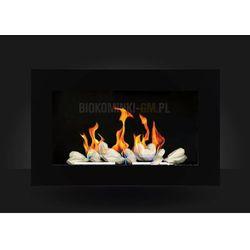 Globmetal Biokominek 570x350 czarny strukturalny by