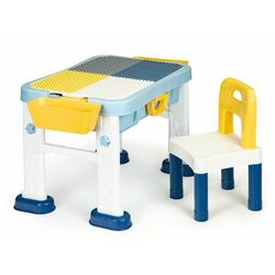 Multistore Meble dla dzieci, stolik do zabawy, krzesełko, tablica, 6w1