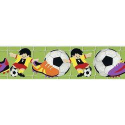 Border ścienny dziecięcy piłka nożna 471809 Kids Club 2014 RASCH Bezpłatna wysyłka kurierem od 300 zł!