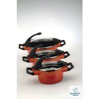 zestaw garnków virgo 6 el pomarańczowe wysyłka 24h marki Berghoff