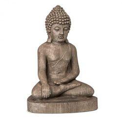 Blumfeldt gautama, figura ogrodowa, 43 x 61 x 34 cm, fibreclay, brązowa