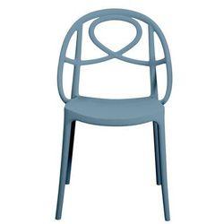 Green Krzesło ogrodowe etoile niebieskie