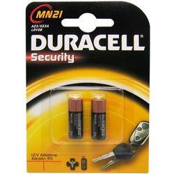 2 x bateria do pilota samochodowego Duracell 23A MN21 - produkt z kategorii- Pozostałe akcesoria samochodowe