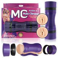 Mc  - podwójny masturbator dwie pochwy - multiple climaxes pussy & ass
