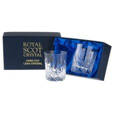 Royal Scot Crystal Szklanki London do Whisky 210ml 2szt.