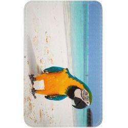 """Bonprix Dywaniki łazienkowe """"papuga"""", pianka memory niebieski"""