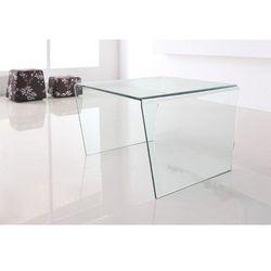 Stolik szklany pendenza - szkło transparentne marki King home