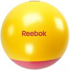 Piłka gimnastyczna 65cm dwukolorowa 40016MG REEBOK ze sklepu Fitness.Shop.pl