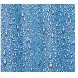 Zasłonа GOCCE, niebieska, 180 x 200 cm (8590507280729)