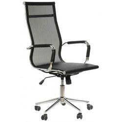 Stema - ne Fotel gabinetowy ne-633 czarny - biurowy, obrotowy - krzesło obrotowe