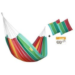 Zestaw hamakowy HW w kolorze 212 z poduszkami i zestawem montażowym, Rainbow HW-PZS-212
