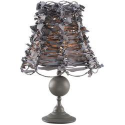 Lampka Nocna ART DECO GRAY 2527 - Szary