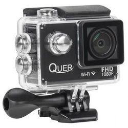 Quer Kamera  kamera sportowa quer fullhd black - kom0904 darmowy odbiór w 19 miastach!, kategoria: kamery spo