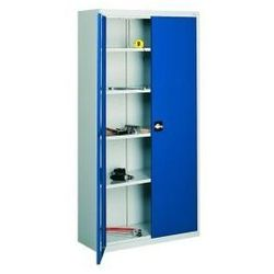 Metalowa szafa warsztatowa do garażu swm 204 półek 4-120 cm marki Malow