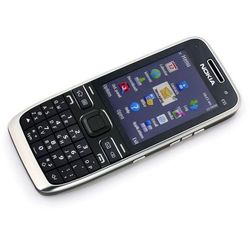 e52 biała - biały \ 2 lata na terenie całego kraju + polskie menu + bez sim locka wyprodukowany przez Nokia