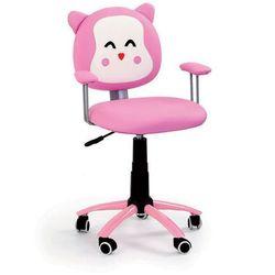 Fotel dziecięcy obrotowy HALMAR KITTY