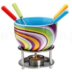 Czekoladowe fondue, zestaw - kolorowe paseczki,  marki Mastrad