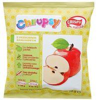 CRISPY NATURAL 18g Chrupsy Suszone chipsy z jabłka z przecierem bananowym