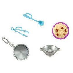 Barbie akcesoria kuchenne (spaghetti) marki Mattel