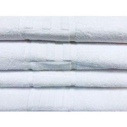 Slevo Ręcznik hotelowy aqua z logo hotel 70x140 cm biały 100% bawełna 500 gr/m2