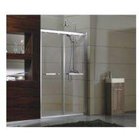 MOVE Drzwi prysznicowe 120x190, szkło transparentne SafeGlass + powłoka Easy Clean, rea_move_120