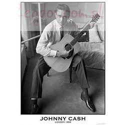 Johnny Cash Londyn 1956 - plakat - sprawdź w wybranym sklepie