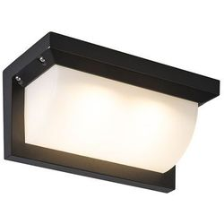 Lampa zewnętrzna Lightsome LED czarna z białym