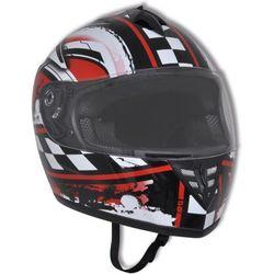 vidaXL Integralny kask na motor, rozmiar L z kategorii Kaski motocyklowe