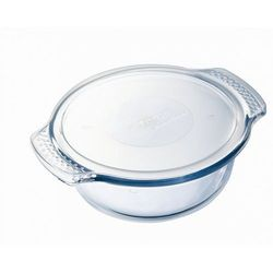 Pyrex  okrągłe naczynie szklane z pokrywką 3,75 l