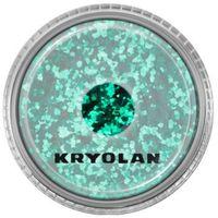 polyester glimmer coarse (emerald green) gruby sypki brokat - emerald green (2901) marki Kryolan