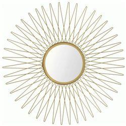 Stylowe lustro orea - złote marki Producent: elior