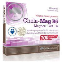 Olimp Chela Mag B6 Magnez 30 kaps. - produkt farmaceutyczny