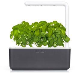 Inteligentna donica Click and Grow Smart Garden 3 dark grey, SG3GR