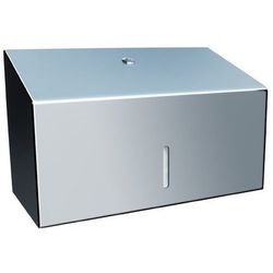 Pojemnik na ręczniki papierowe składane Merida STELLA MINI stal szlachetna połysk (5908248109651)