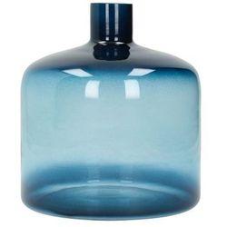 Dekoria Wazon Guido blue 20cm, 18 × 18 × 20 cm