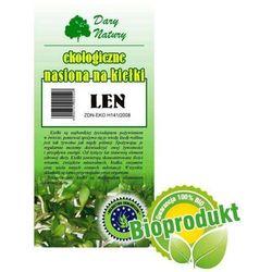 Ekologiczne nasiona na kiełki - Len 30g - Dary Natury - produkt z kategorii- Nasiona