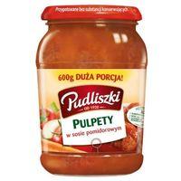 PUDLISZKI 600g Pulpety w sosie pomidorowym