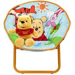 Maskotka kubuś puchatek i krzesło składane dla dzieci kubuś puchatek marki Delta