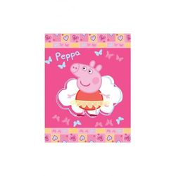 Peppa Koc świnka 110x140cm 3y32e3