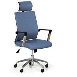 Krzesło biurowe Elite, niebieski