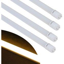 Vidaxl  tuba led t8 ciepła biel, 15 w 90 cm, 4 szt., kategoria: świetlówki
