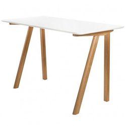 Skandynawskie biurko bhummi - białe marki Producent: elior