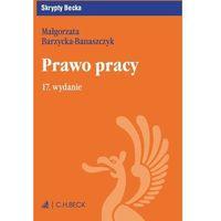Prawo pracy. Wydanie 17 - Małgorzata Barzycka-Banaszczyk (9788325596774)