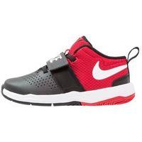 Nike Performance TEAM HUSTLE D 8 Obuwie do koszykówki black/white/university red