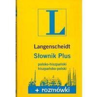 Słownik Plus Rozmówki polsko-hiszpański, hiszpańsko-polski (2013)