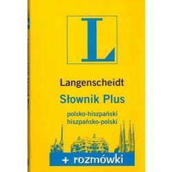 Słownik Plus Rozmówki polsko-hiszpański, hiszpańsko-polski, rok wydania (2013)