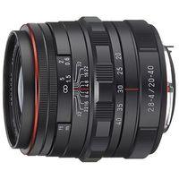 Pentax  hd da 20-40mm f/2,8-4 ed dc wr limited black