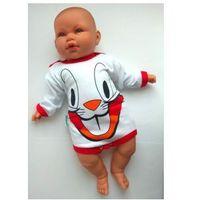 Body niemowlęce Królik Bugs Długi rękaw Rozm. 68, BC56-1055C