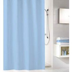 zasłona prysznicowa kito 180x200 cm, jasnoniebieska marki Kleine wolke