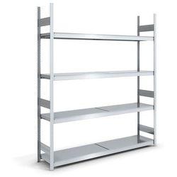 Hofe Regał wtykowy o dużej pojemności z półkami stalowymi,wys. 2500 mm, szer. półki 2000 mm